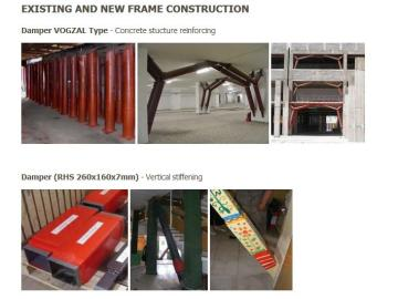 EXISTING AND NEW FRAME CONSTRUCTION